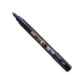 Posca - PC-3M Fine Bullet Tip - Water Based Paint Marker - Navy Blue